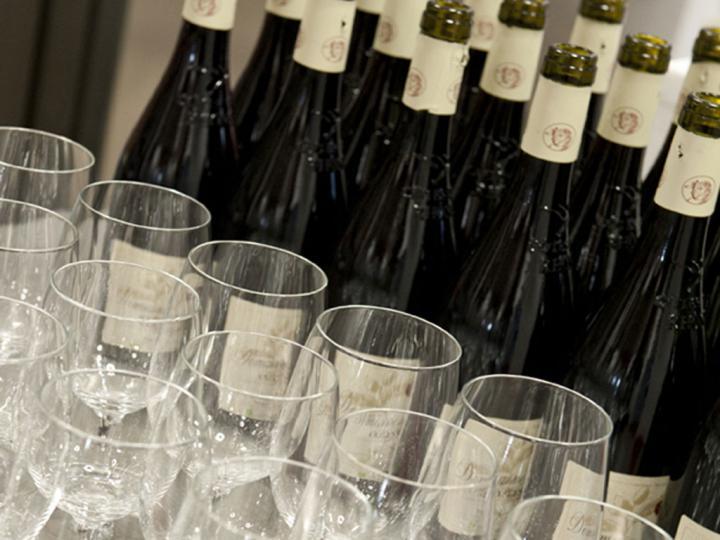Selektierte hochwertige Weine